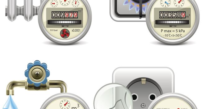 Vector Meter Icons
