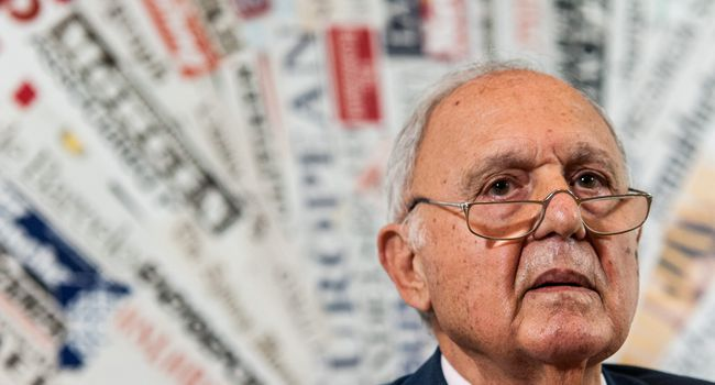 Conference Of the Minister Of European Affairs Prof. Paolo Savona In Rome