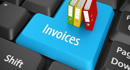 invoices enter key
